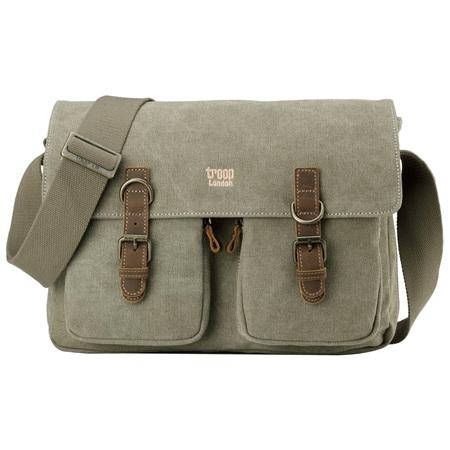 Classic Satchel Bag - Khaki