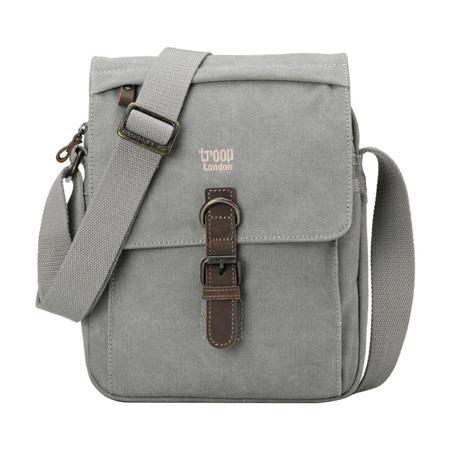 Classic Shoulder Bag - Ash Grey
