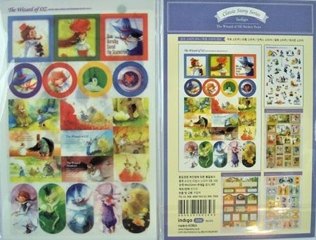 Classic Story Stickers: Wizard of Oz