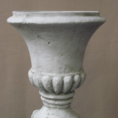 Classic Urn small Grey white wash 449