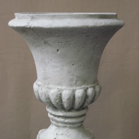 Classic Urn small Grey white wash CO449