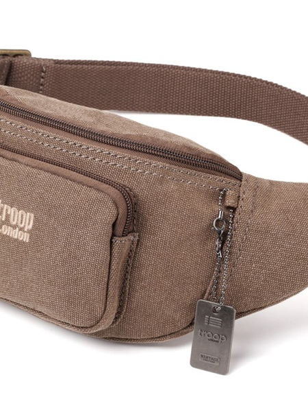 Classic Waist Pouch or Cross Body - Brown - CTRP0244BR