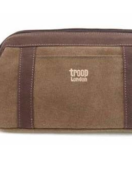 Classic Wash Bag - Brown - CTRP0395BR