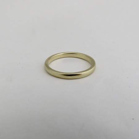 Classic Wedding Band In 14k
