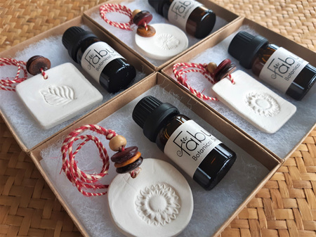 Clay Aromatherapy Diffuser Set
