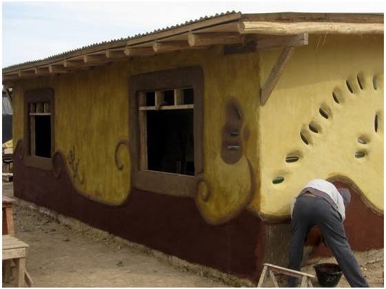 Clay building