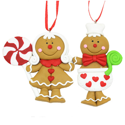 Claydough gingerbread person - choose one