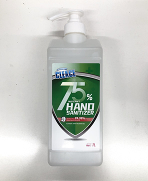CLEACE HAND SANITISER 75% ALCOHOL 1L