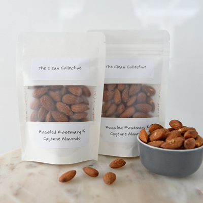 Clean Collective Roasted Almonds