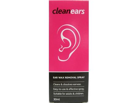 CLEAN EARS Ear Wax Removal Spr 30ml