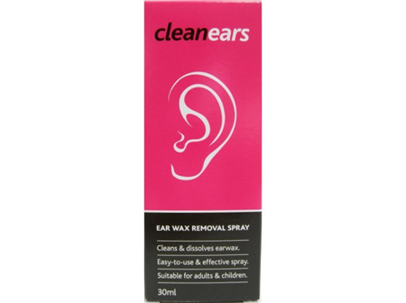 CLEAN EARS Wax Removal Sp. 30ml