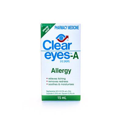 Clear Eyes-A Allergy