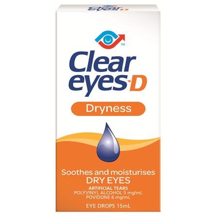 Clear Eyes D 15 ml
