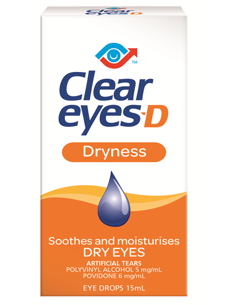 Clear Eyes D 15 ml