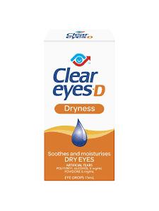CLEAR EYES D Eye Drops 15ml