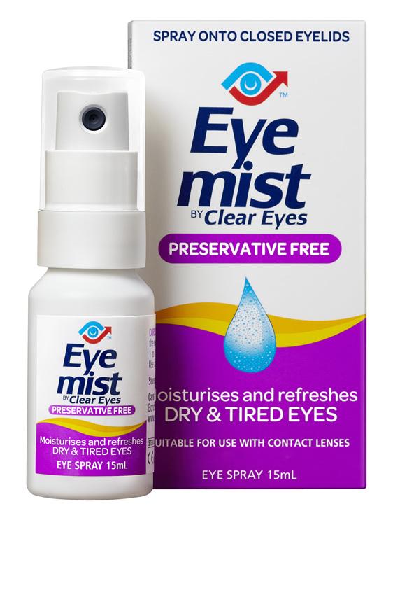 CLEAR EYES Eye Mist 15ml
