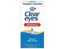 Clear Eyes Red Eyes
