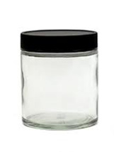 Clear Glass Jar - 120gm