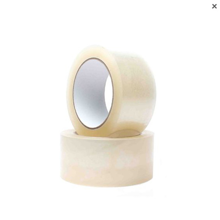 Clear packing tape - 48mm x 100m x 1 roll