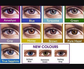 ***CLEARANCE***  FRESHLOOK COLOURBLENDS FASHION COLOUR CONTACTS - Turquoise