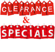 Clearance Items & Specials