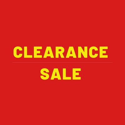 Clearance/Sale