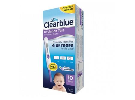 CLEARBLUE Dig. Adv. Ovulat. Test 10pk