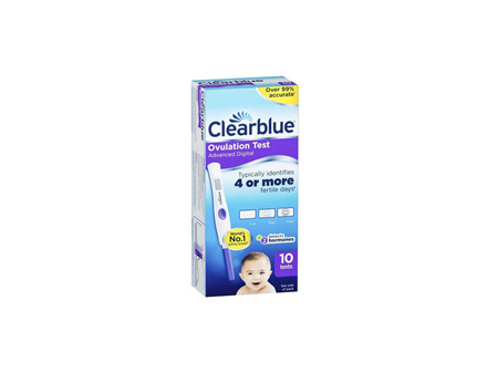 CLEARBLUE Digital Advanced Ovulation Test 10 Pack