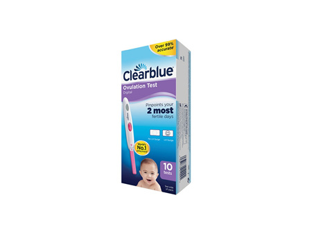 CLEARBLUE Digitial Ovulation Test 10 Pack