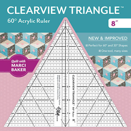 Clearview 60 degree ruler