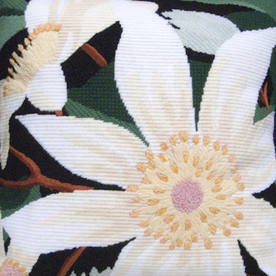 Flower of the Skies Clematis needlepoint kit