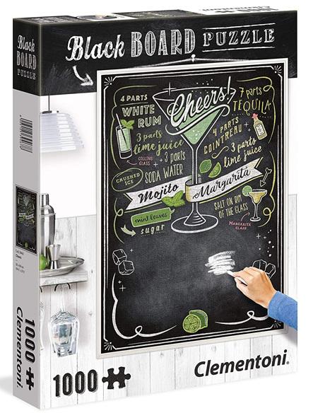 Clementoni 1000 Piece Blackboard Jigsaw Puzzle - Cheers