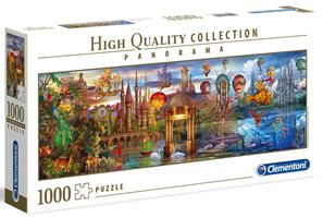 Clementoni 1000 Piece Jigsaw Puzzle: Fantasy Panorama