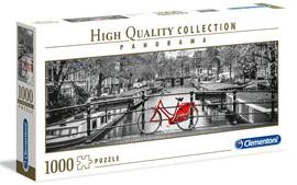 Clementoni 1000 Piece Jigsaw Puzzle: Amsterdam Bicycle
