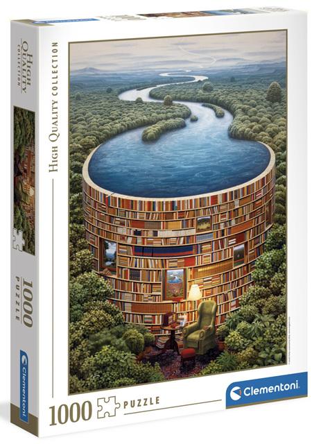 Clementoni 1000 Piece Jigsaw Puzzle: Bibliodame