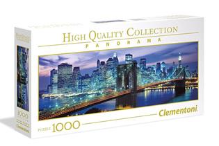 Clementoni 1000 Piece Jigsaw Puzzle: Brooklyn Bridge Panorama
