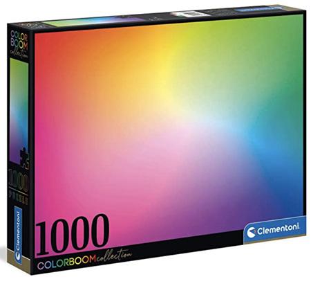 Clementoni 1000 Piece Jigsaw Puzzle: Colour Bloom Series - Pure