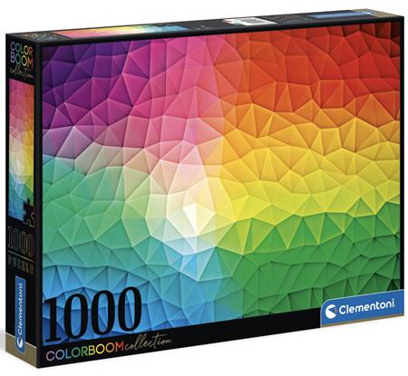 Clementoni 1000 Piece Jigsaw Puzzle: Colour Bloom Series - Mosaic