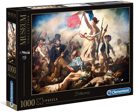 Clementoni 1000 Piece Jigsaw Puzzle: Delacroix-Liberty Leading The People