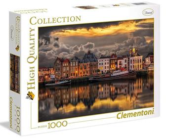 Clementoni 1000 Piece Jigsaw Puzzle: Dutch Dream World