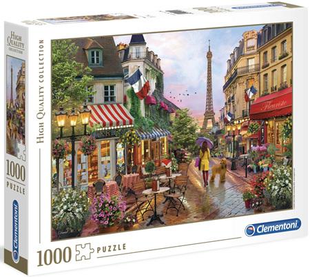 Clementoni 1000 Piece Jigsaw Puzzle: Flowers In Paris