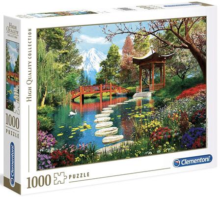 Clementoni 1000 Piece  Jigsaw Puzzle - Fuji Garden