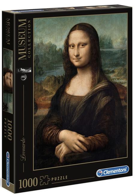 Clementoni 1000 Piece  Jigsaw Puzzle - Leonado Gioconda  (Mona Lisa)