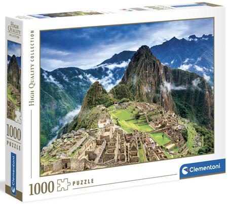 Clementoni 1000 Piece Jigsaw Puzzle: Machu Picchu