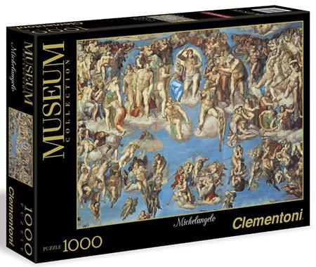 Clementoni 1000 Piece Jigsaw Puzzle: Michelangelo - Universal Judgement