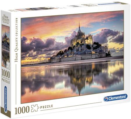 Clementoni 1000 Piece Jigsaw Puzzle: Mont Saint Michel