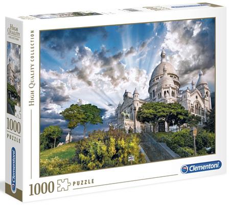 Clementoni 1000 Piece Jigsaw Puzzle: Montmartre