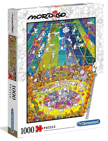 "Clementoni 1000 Piece Jigsaw Puzzle: Mordillo - ""The Show"""