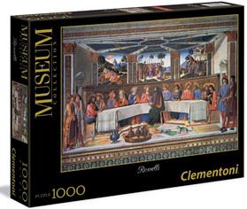 "Clementoni 1000 Piece Jigsaw Puzzle: Museum Rosselli ""Cena"" Last Supper"