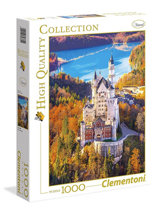 Clementoni 1000 Piece Jigsaw Puzzle: Neuschwanstein